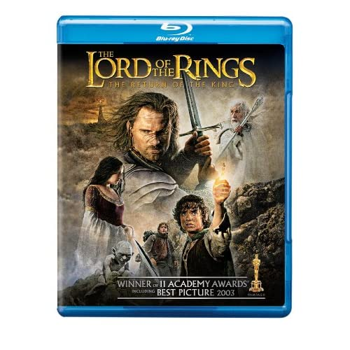 Image 0 of The Lord Of The Rings: The Return Of The King Blu-Ray On Blu-Ray With Elijah Woo