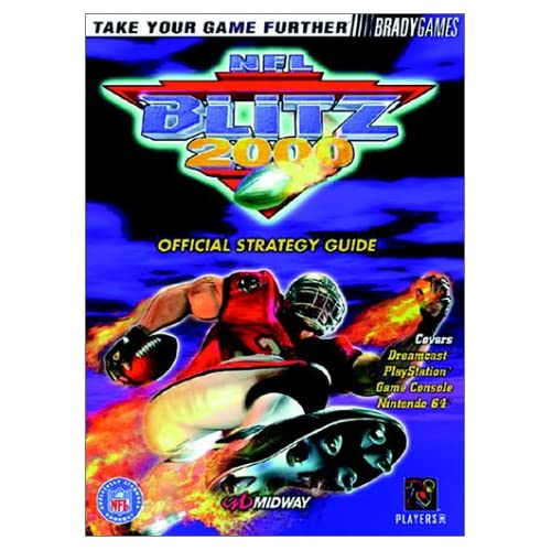 NFL Blitz 2000 Official Strategy Guide Brady Games Football