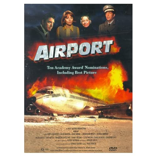 Image 0 of Airport Full Screen Edition On DVD With Burt Lancaster