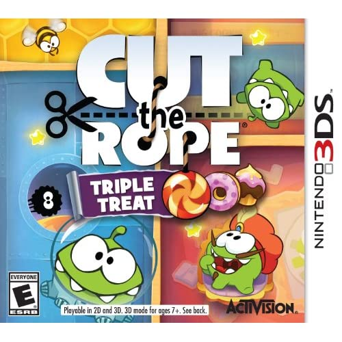 Cut The Rope: Triple Treat Nintendo For 3DS Puzzle
