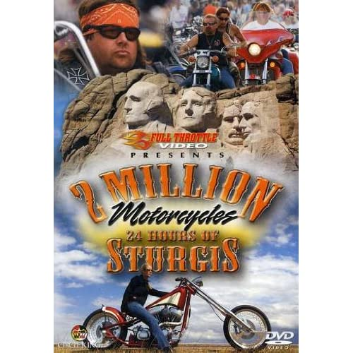 2 Million Motorcycles: 24 Hours Of Sturgis On DVD