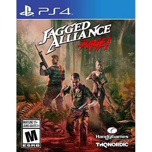 Image 0 of Jagged Alliance: Rage! For PlayStation 4 PS4 Strategy