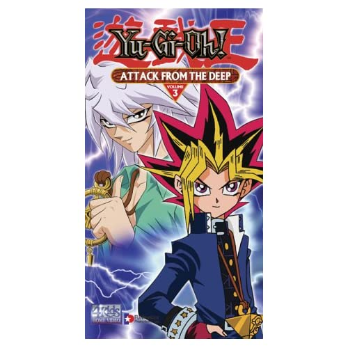 Yu-Gi-Oh: Attack From The Deep On VHS With Pablo Sevilla