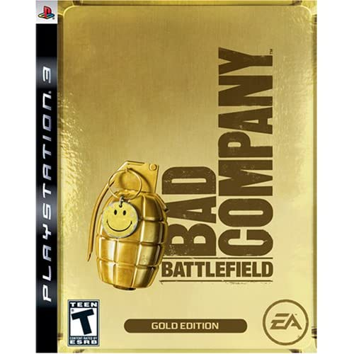 Image 0 of Battlefield: Bad Company Gold Edition For PlayStation 3 PS3 Shooter