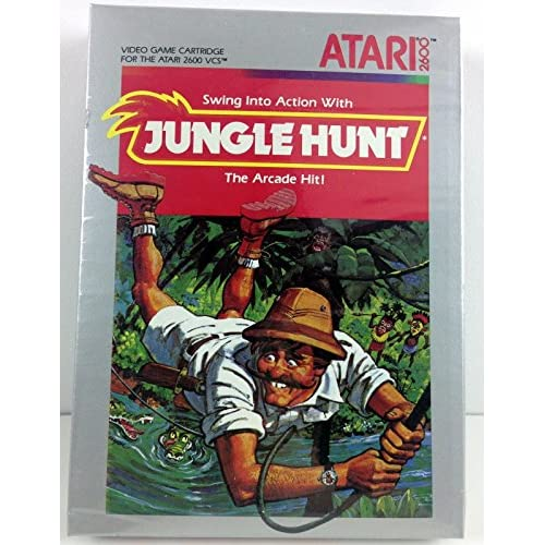 Jungle Hunt Atari 2600 For Atari Vintage