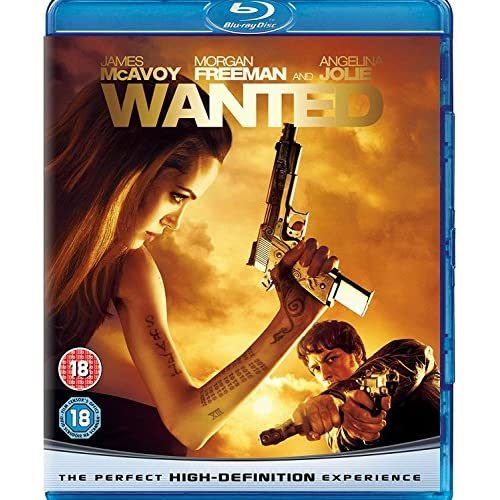 Image 0 of Wanted On Blu-Ray with James McAvoy