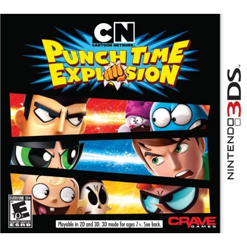 Cartoon Network: Punch Time Explosion Nintendo For 3DS