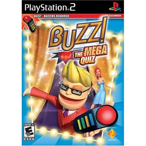 Image 0 of Buzz: The Mega Quiz Software Only For PlayStation 2 PS2 Trivia