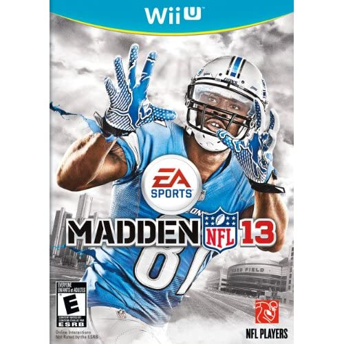Image 0 of Madden NFL 13 For Wii U Football Soccer
