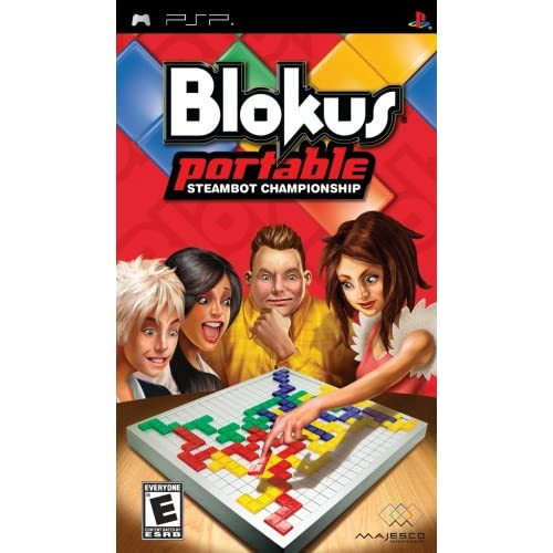 Image 0 of Blokus Portable: Steambot Championship Sony For PSP UMD Board Games