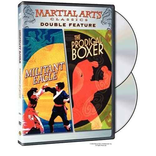 Image 0 of Militant Eagle / The Prodigal Boxer Martial Arts Classics Double