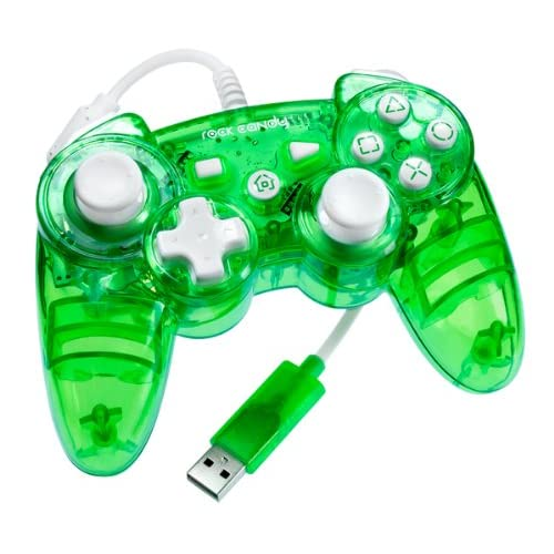 Image 0 of Rock Candy PS3 Controller Green For PlayStation 3 FEF740 Gamepad