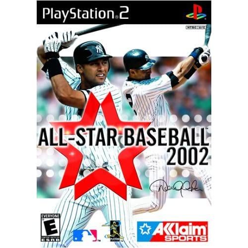 All Star Baseball 2002 For PlayStation 2 PS2 With Manual and Case