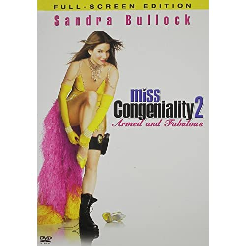 Image 0 of Miss Congeniality 2 Armed And Fabulous Full Screen Edition On DVD With