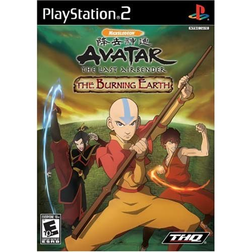 Avatar: The Burning Earth For PlayStation 2 PS2 With Manual and Case