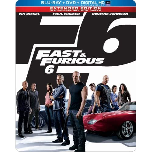Image 0 of Fast And Furious 6 Limited Edition Blu-Ray Steelbook With Vin Diesel