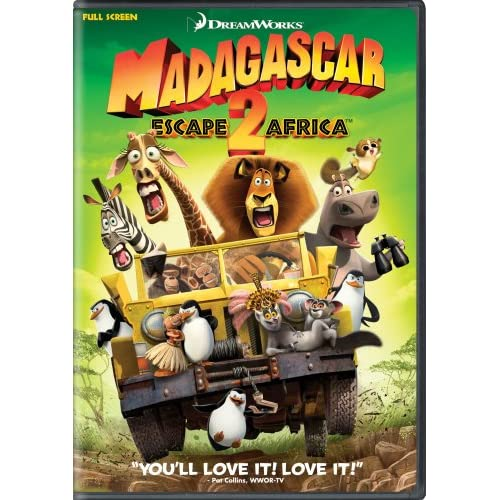 Madagascar: Escape 2 Africa Full Screen Edition On DVD With Ben