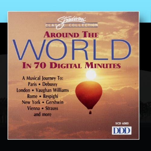 Image 0 of Around The World In 70 Digital Minutes On Audio CD Album 2011
