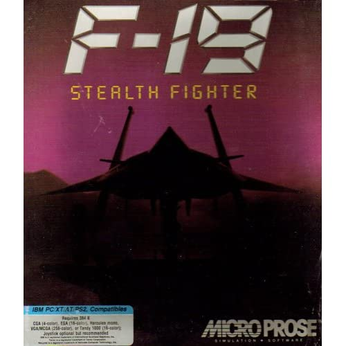 Image 0 of F-19 Stealth Fighter Software