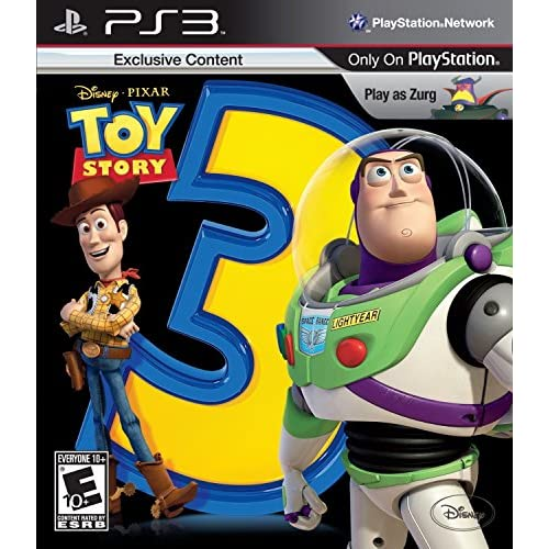 Toy Story 3 The Video Game For PlayStation 3 PS3 Disney With Manual and Case