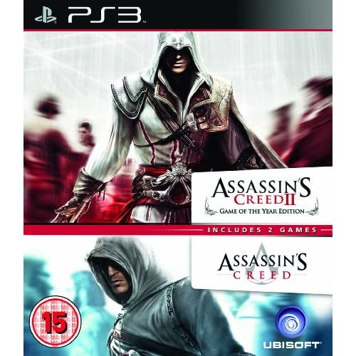 Assassin's Creed 1 And 2 Ubisoft Double Pack PS3 PlayStation 3