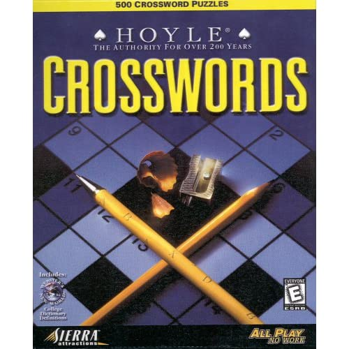 Image 0 of Hoyle Crosswords PC/Mac Software