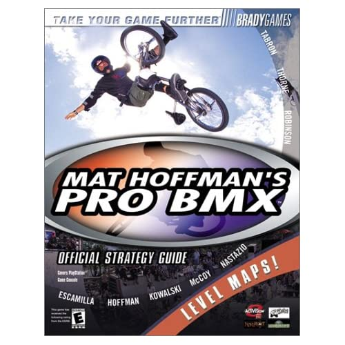 Image 0 of Mat Hoffman's Pro BMX Official Strategy Guide Bradygames Take Your Games Further
