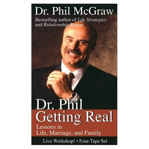 Image 0 of Dr Phil Getting Real By Phil Mcgraw On Audio Cassette