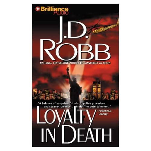 Image 0 of Loyalty In Death In Death Series By Robb J D Ericksen Susan Reader On Audio Cass