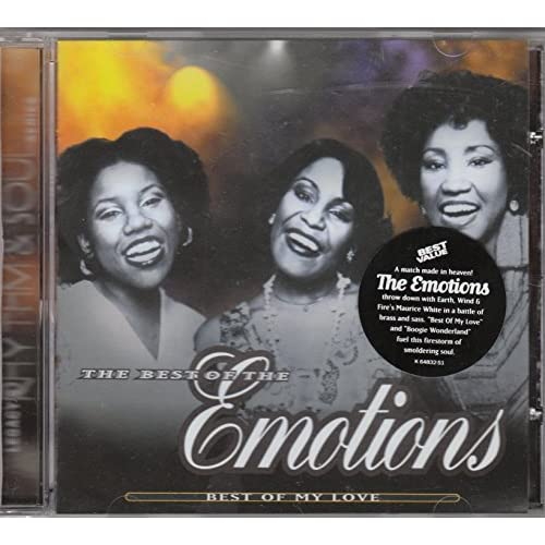 Image 0 of Best Of My Love: The Best Of The Emotions By The Emotions On Audio CD Album 1996