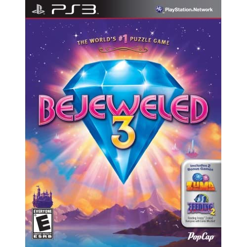 Image 0 of Bejeweled 3 With Zuma And Feeding Frenzy 2 For PlayStation 3 PS3