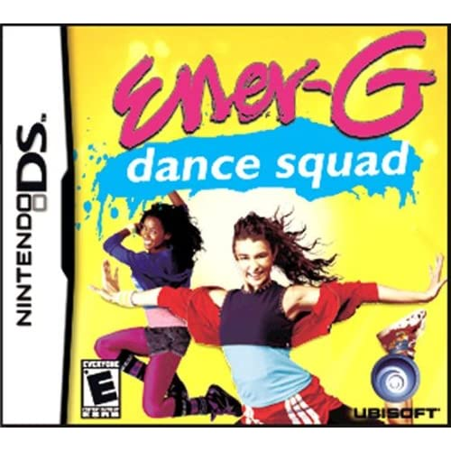Ener-G Dance Squad For Nintendo DS DSi 3DS 2DS Music