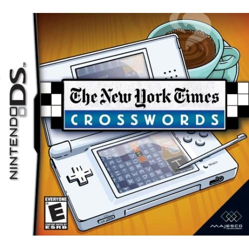 Image 0 of New York Times Crosswords For Nintendo DS DSi 3DS 2DS Puzzle