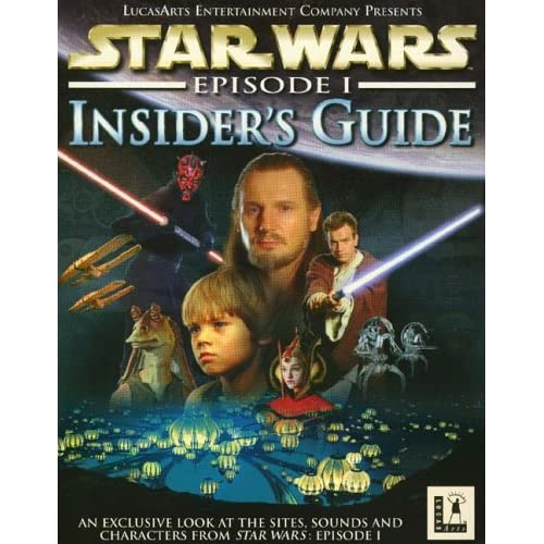 Image 0 of Star Wars Episode 1 Insider's Guide Software