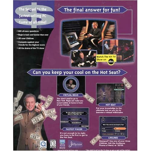 Image 2 of Who Wants To Be A Millionaire 2nd Edition Cd-Rom For PC Software