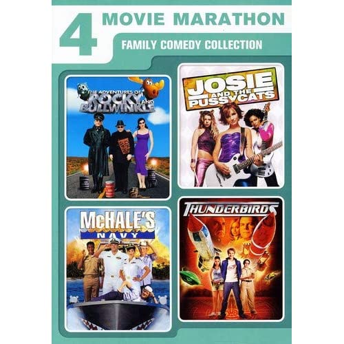 Image 0 of 4 Movie Marathon: Family Comedy Collection Adventures Of Rocky And Bullwinkle /