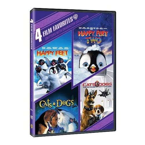 Image 0 of 4 Film Favorites Critters With Character Collection: Happy Feet Happy Feet Two C