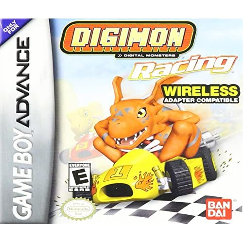 Digimon Racing For GBA Gameboy Advance