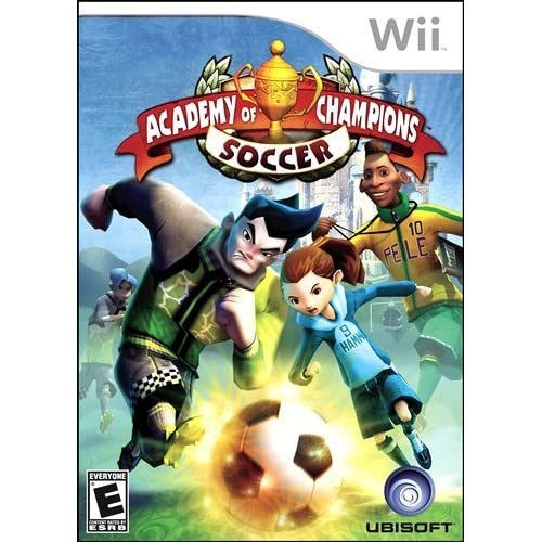 Academy Of Champions Soccer For Wii Strategy With Manual And Case
