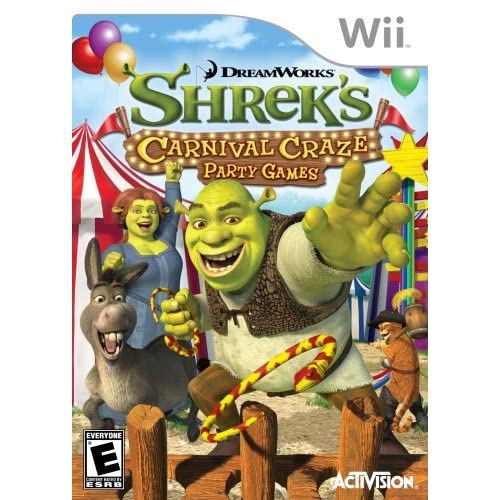 Image 0 of Shrek's Carnival Craze Party Games For Wii