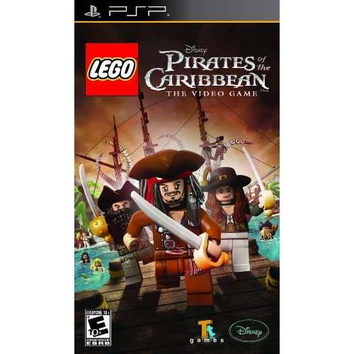 Image 0 of Lego Pirates Of The Caribbean Sony For PSP UMD Disney