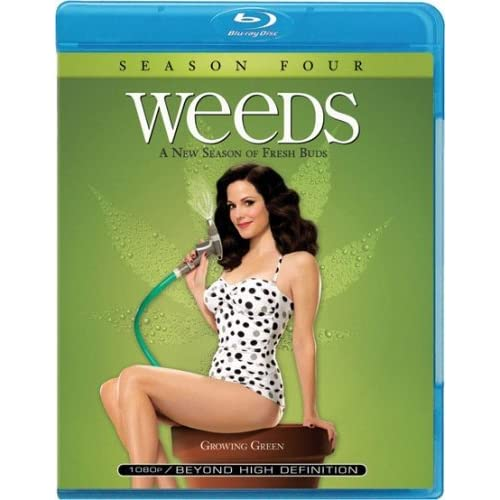 Image 0 of Weeds: Season 4 Blu-Ray On Blu-Ray With Mary-Louise Parker Comedy