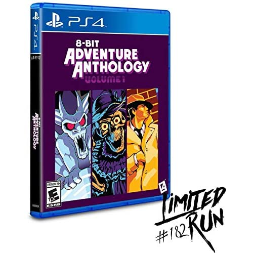 8-BIT Adventure Anthology: Volume 1 Limited Run #182 For PlayStation 4 PS4