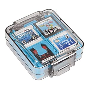 Image 0 of Official 16 Game Clear Case Teal For DS