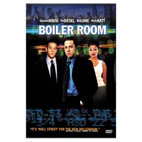 Image 0 of Boiler Room On DVD With Giovanni Ribisi