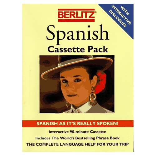 Image 0 of Berlitz Spanish Berlitz Cassette Packs Spanish Edition By Cassette Pack And Berl