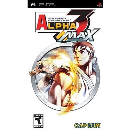 Image 0 of Street Fighter Alpha 3 Max Sony For PSP UMD Fighting