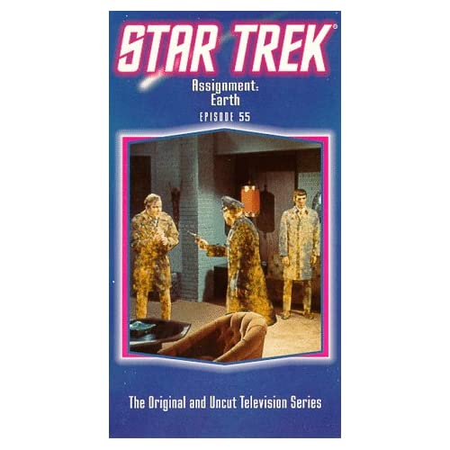 Image 0 of Star Trek The Original Series Episode 55: Assignment: Earth On VHS With William