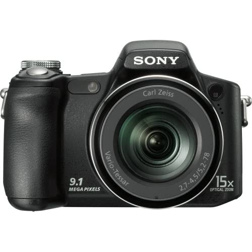 Sony Cyber-Shot DSCH50 9.1 MP Digital Camera With 15X Optical Zoom With Super St