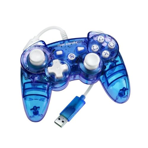 Image 0 of Rock Candy PS3 Controller Blue For PlayStation 3 PL-6460 Gamepad